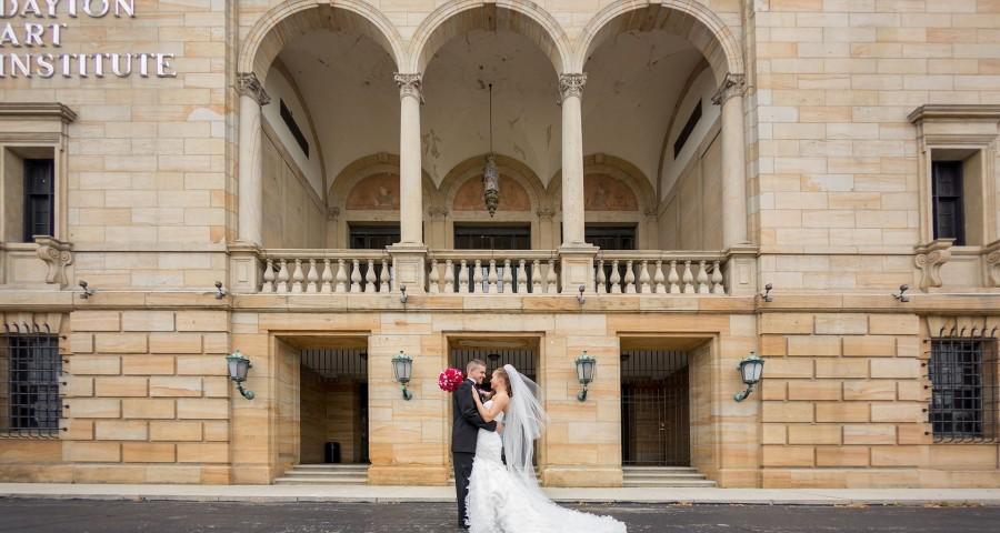 Dayton Art Institute Wedding Photography Top Dayton Wedding Vendors