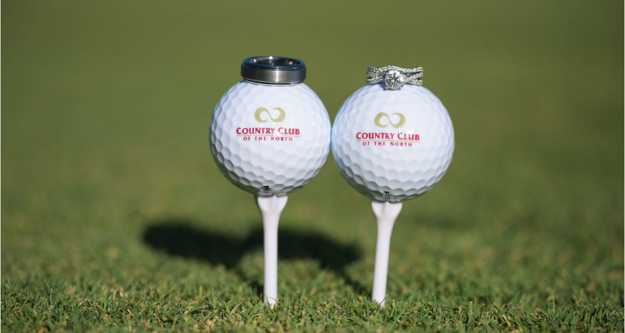 Country Club of the North Wedding Rings