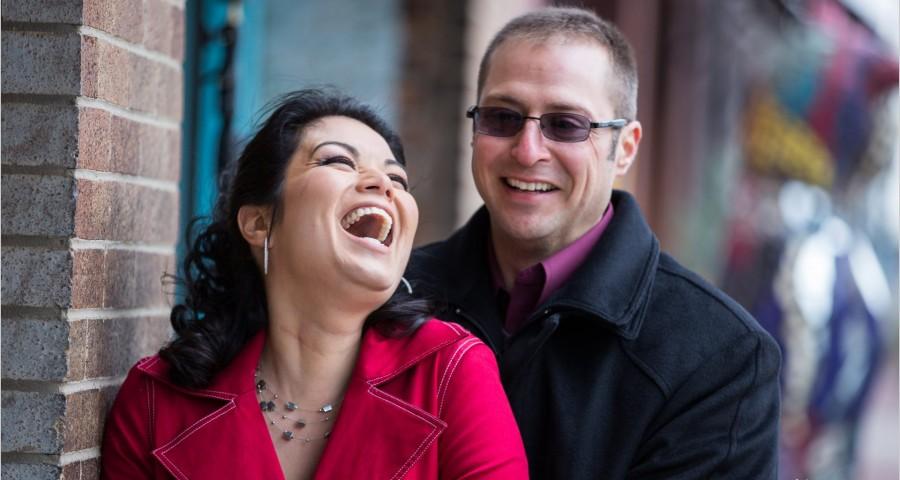 Dayton Wedding Photographer Oregon District Engagement