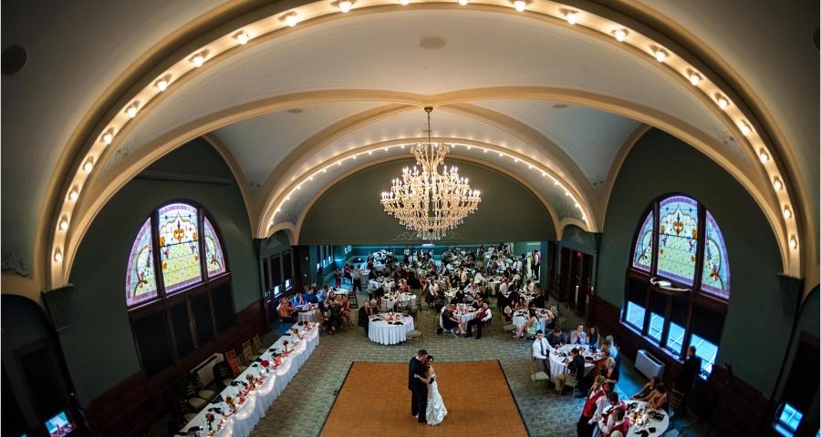 Fort Piqua Plaza Wedding