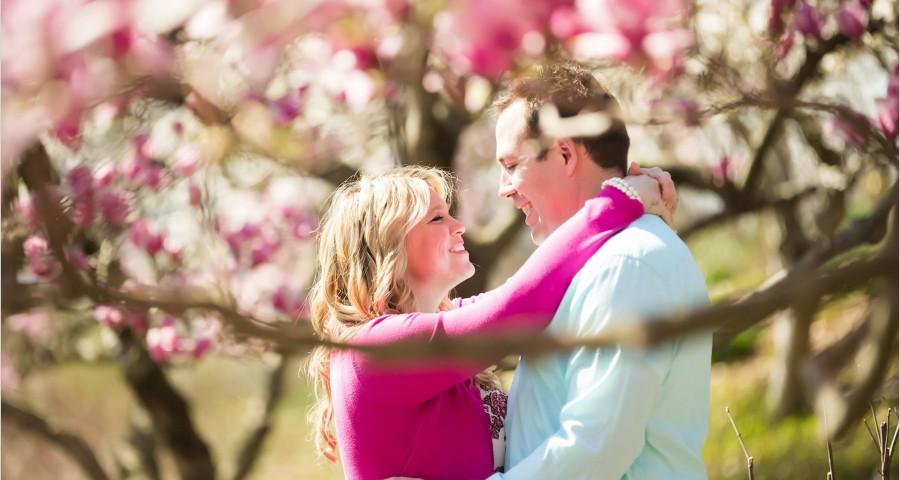 Eden Park Cincinnati Spring Engagement