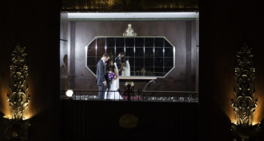 Hilton Netherland Plaza Fashion Wedding