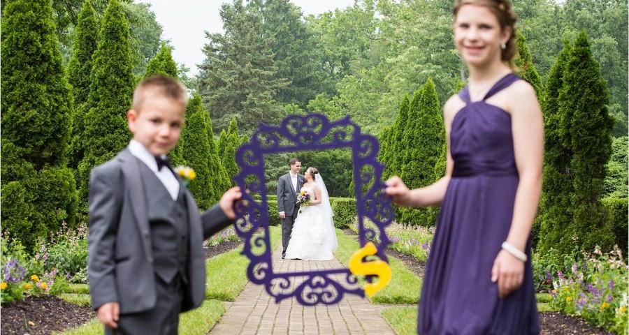 Formal Gardens Oxford Ohio Wedding