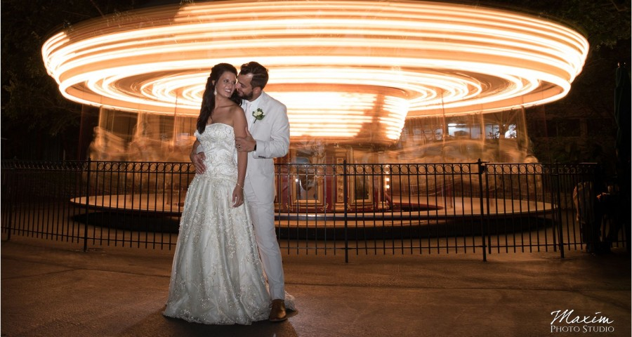 Moonlight Gardens Coney Island Carousel