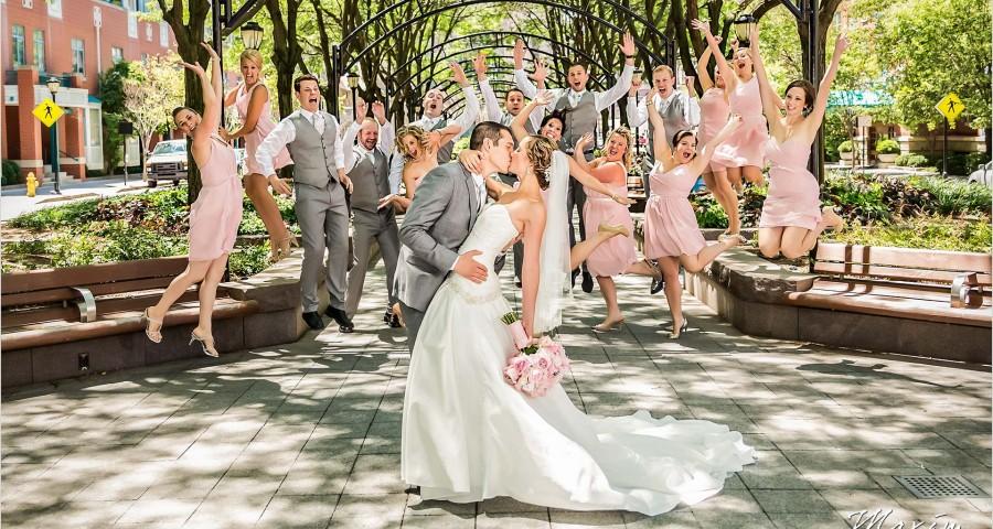 Piatt Park Cincinnati Wedding portraits